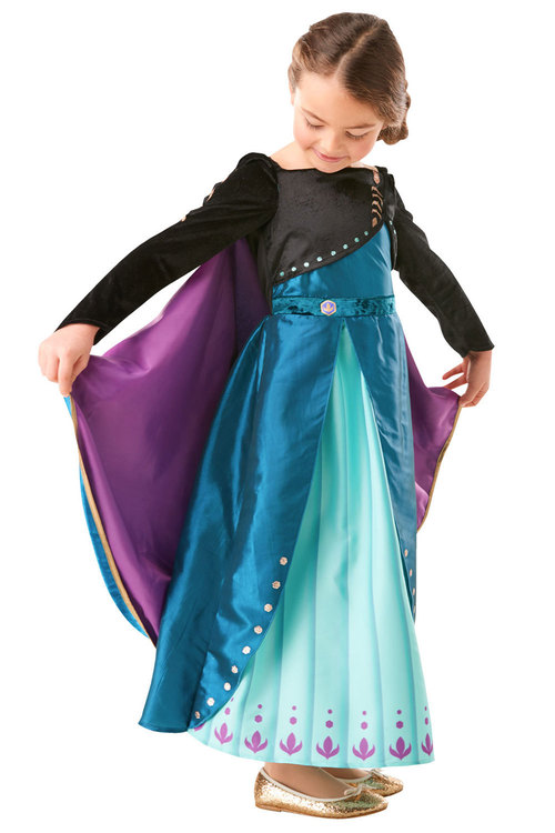 Rubies Anna Queen Premium Epilogue Frozen 2