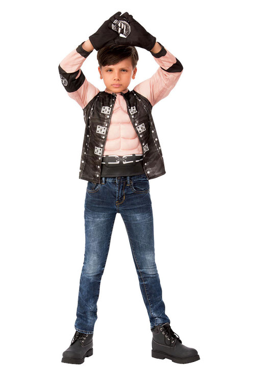 Rubies Aj Styles Costume Top And Gloves Child