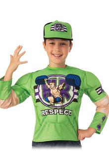 Rubies John Cena Costume Top And Hat Child - 295753