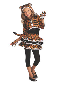 Rubies Tigress Hoodie Costume - 295758