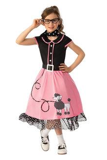 Rubies 50'S Bopper Girl Costume - 295796