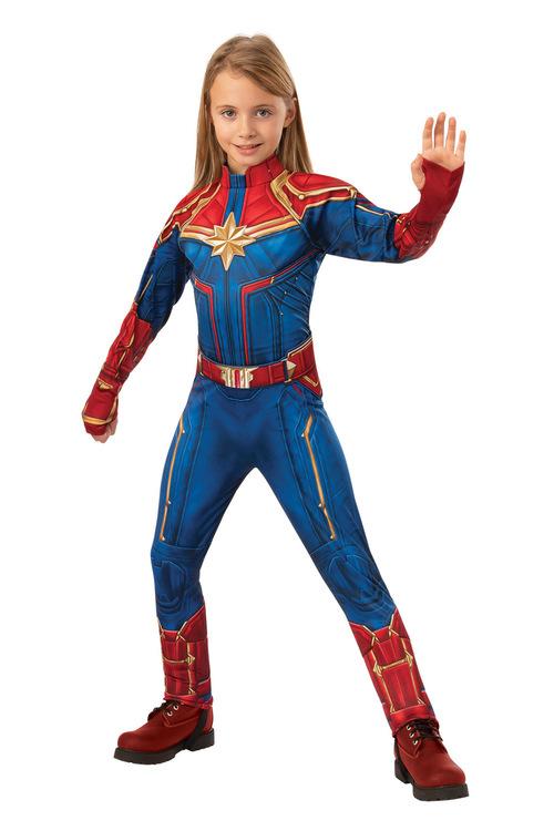 Rubies Captain Marvel Deluxe Hero Suit