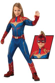 Rubies Captain Marvel Deluxe Hero Suit - 295813