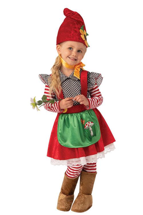 Rubies Garden Gnome Girl Costume