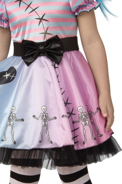 Rubies Little Blue Skelly Girl Costume