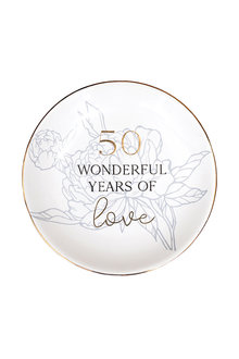 Splosh Anniversary 50 Trinket Plate - 296554