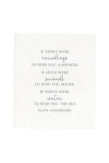 Splosh Anniversary Kisses Verse - 296555