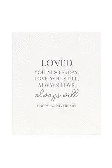 Splosh Anniversary Always Verse - 296561