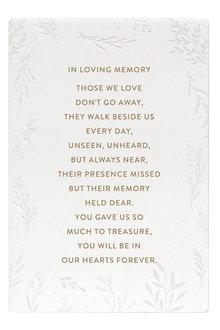 Splosh In Loving Memory Life Quote - 296626