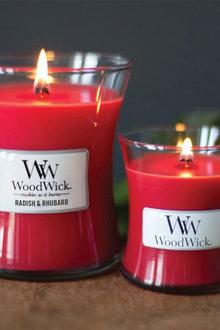WoodWick Radish & Rhubarb Candle - 296686