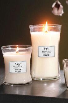 WoodWick White Teak Candle - 296692