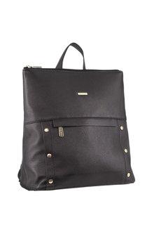 Pierre Cardin Leather Multi-pocket Backpack - 296705