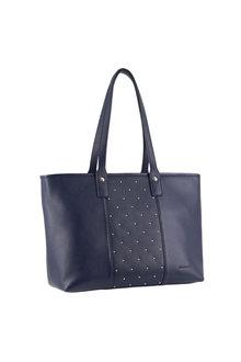 Pierre Cardin Leather Shoulder Handbag - 296706