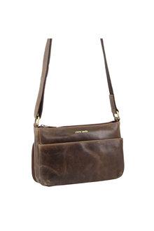 Pierre Cardin Leather X-Body Bag/Organiser - 296718