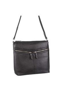 Pierre Cardin Leather Cross-Body Bag - 296722