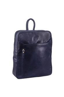 Pierre Cardin Leather Laptop Backpack - 296726