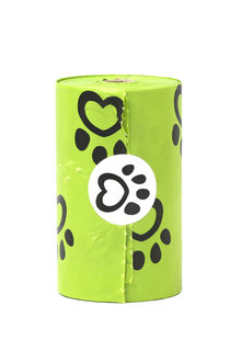 Charlie's Pet Eco-Friendly Biodegradable Doggy Waste Bags with Dispenser - 296919