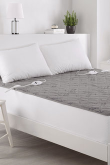 Dreamaker Bamboo Charcoal Quilted Electric Blanket - 296939