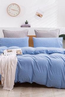 Dreamaker Cotton Jersey Quilt Cover Set - 296940