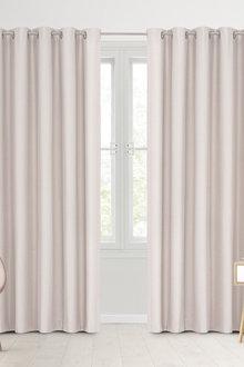 Sherwood Home 100% Blockout Eyelet Curtain Pair - 296956
