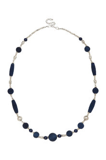 Amber Rose Bubbles Rope Necklace - 297064