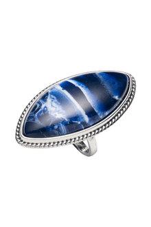 Amber Rose Folk Finger Ring - 297078