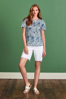 Next Linen T-Shirt - 297150
