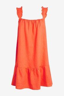 Next Linen Cami Dress - 297188