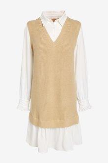 Next Shirt Layer Dress - 297219