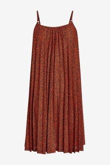 Next Strappy Pleated Dress - 297554