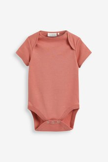 Next 5 Pack Essential Short Sleeve Bodysuits (0mths-3yrs) - 297740