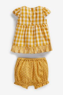 Next Gingham Tunic And Shorts Set (0mths-2yrs) - 297779