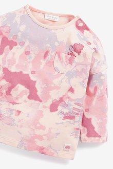 Next 4 Pack Tie Dye Leggings And T-Shirts Set (0mths-2yrs) - 297810