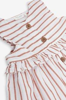 Next Stripe Dress and Hat (0mths-2yrs) - 297813