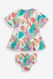 Next Palm Print Dress (0mths-2yrs) - 297821