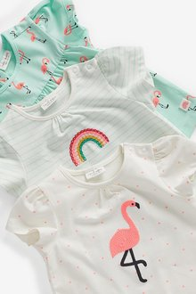Next 3 Pack Character Tops (0mths-2yrs) - 297834