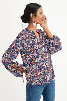 Next Ruched Sleeve Blouse - 297938