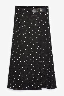 Next Wrap Spot Skirt-Petite - 297951