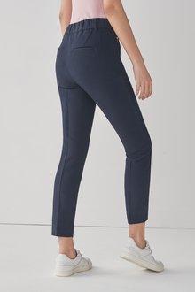 Next Elastic Back Skinny Trousers-Petite - 297958