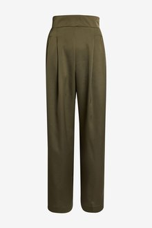Next Emma Willis Satin Wide Leg Trousers-Petite - 297960