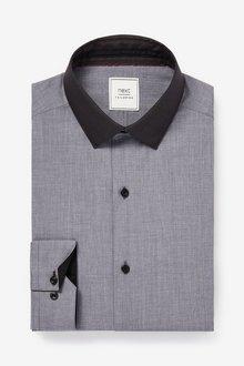 Next Contrast Collar Shirt - 298074