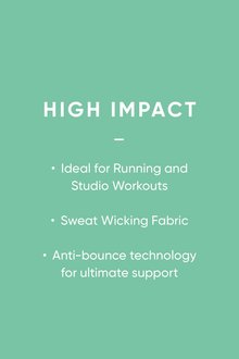 Next Sports Non Padded High Neck Tennis Crop Bra Top - 298451