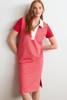 Next Short Sleeve Rugby Dress - 298626