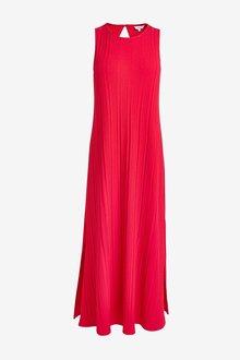 Next Rib Tent Sleeveless Dress - 298634