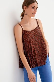 Next Strappy Pleated Camisole-Petite - 298816