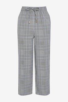 Next Tie Waist Culottes-Petite - 298858