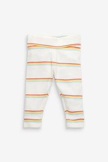 Next 6 Pack Organic Cotton Rainbow Bodysuit And Leggings Set (0mths- - 298913