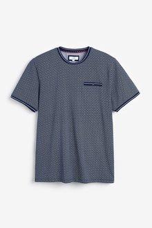 Next Geometric Print T-Shirt - 298958