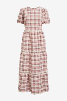 Next Check Tiered Dress - 299110