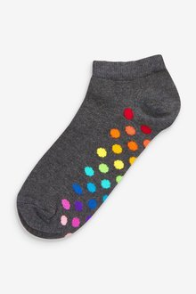 Next Spot And Stripe Trainer Socks Five Pack - 299213